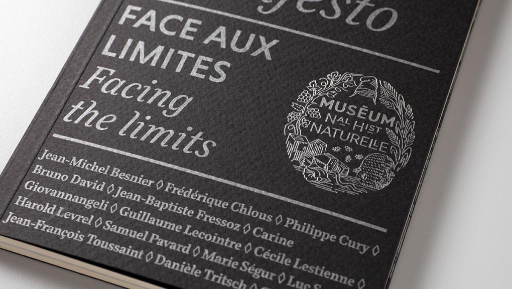 Manifeste du Muséum. Face aux limites © Olivier Moritz pour Reliefs