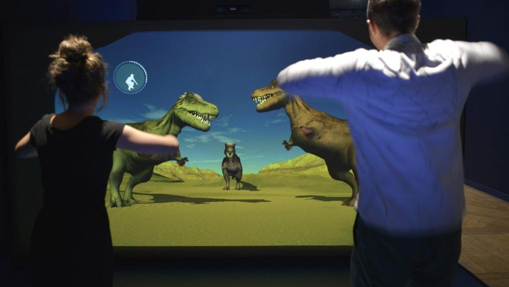 Exposition Un T. rex à Paris © MNHN - JC Domenech