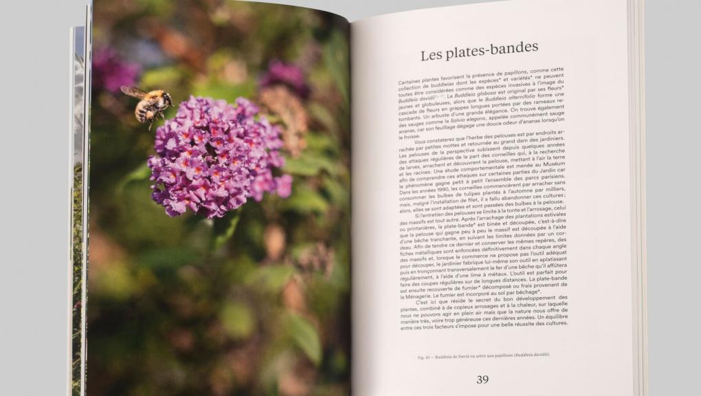 Guide du Jardin des Plantes © MNHN