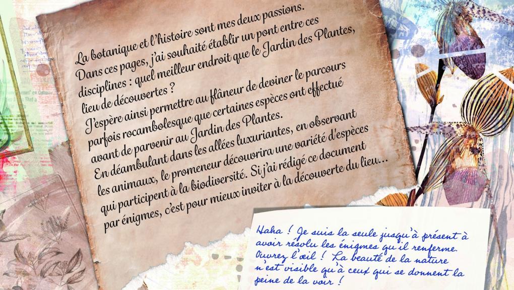 L'affaire du manuscrit codé © MNHN
