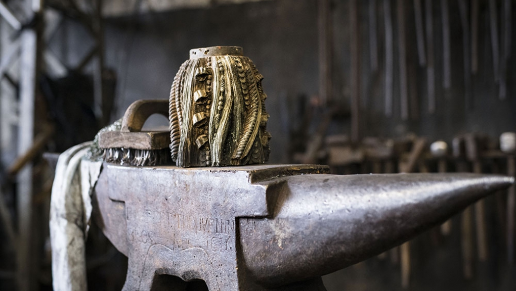 Rénovation de la Gloriette de Buffon © MNHN - A. Iatzoura