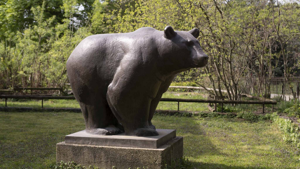 Statue d'ours © MNHN