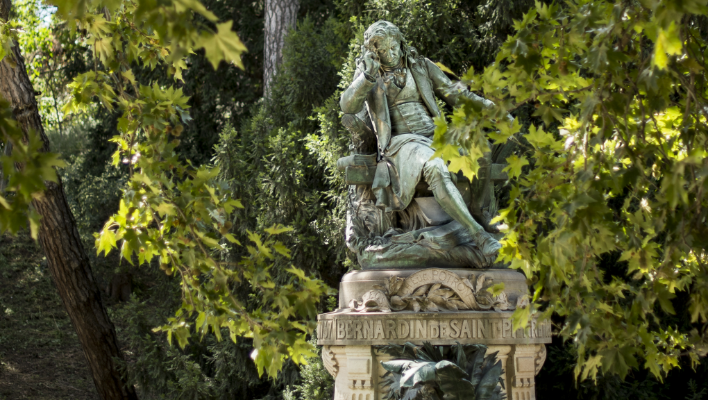 Monument à Bernardin de Saint-Pierre © MNHN – A. Iatzoura