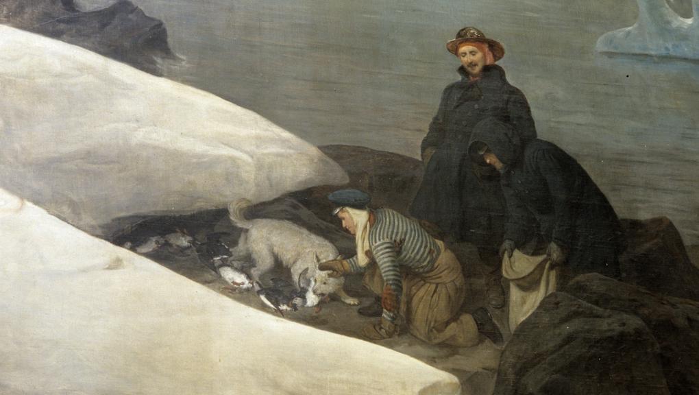 Fresques de François-Auguste Biard © MNHN - Patrick Lafaite