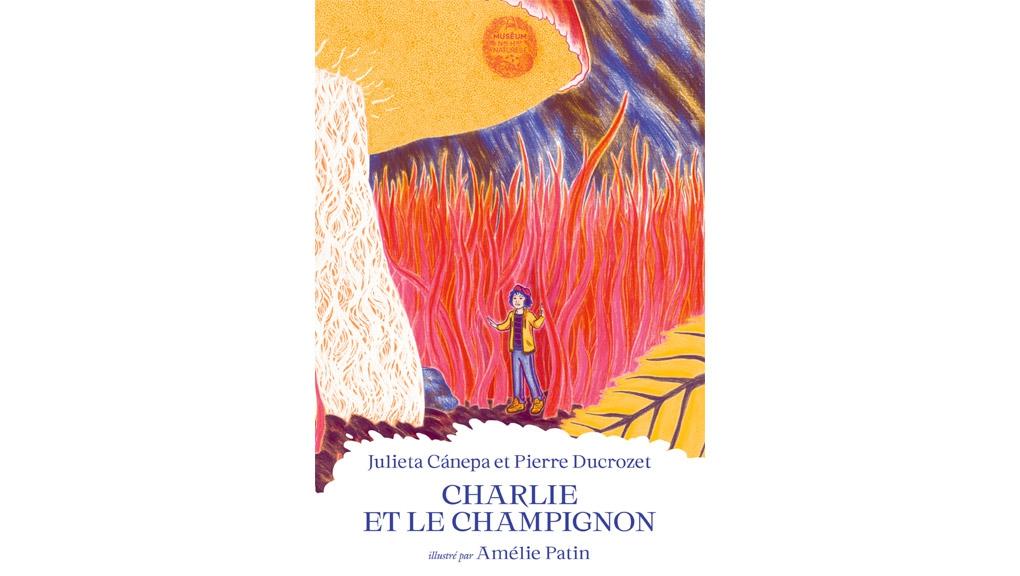 Les contes du Muséum - couverture Charlie et le Champignon