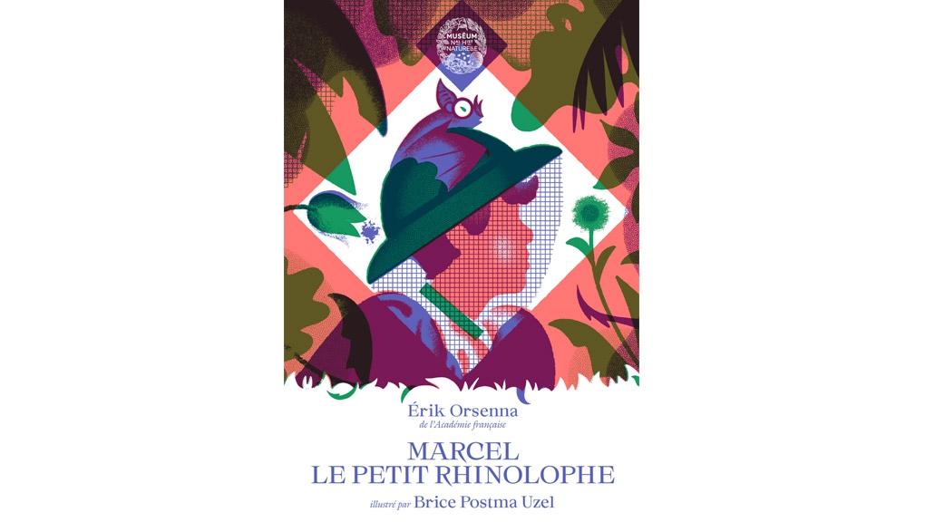 Les contes du Muséum - couverture Marcel Rinolophe