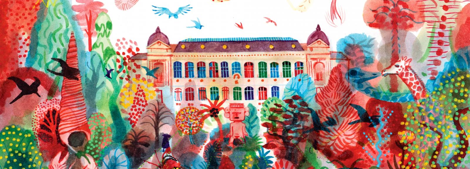 The Parisianer. Chroniques du Muséum © Brecht Evens