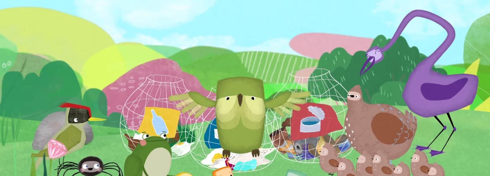 Ma petite planète verte - Cycle Pousse-Pousse - Un rendez-vous pour les tout-petits © KMBO