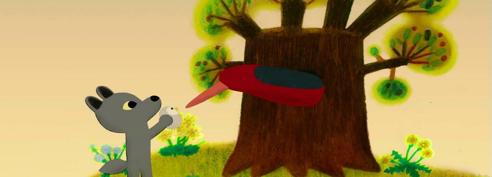 Promenons-nous avec les petits loups - Cycle Pousse-Pousse - Un rendez-vous pour les tout-petits © KMBO