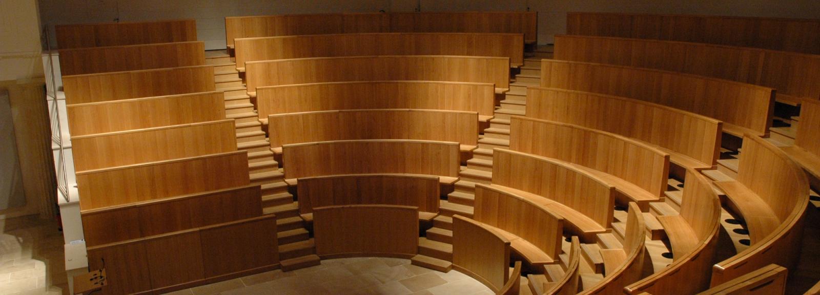 Grand Amphithéâtre du Muséum © MNHN - Patrick Lafaite