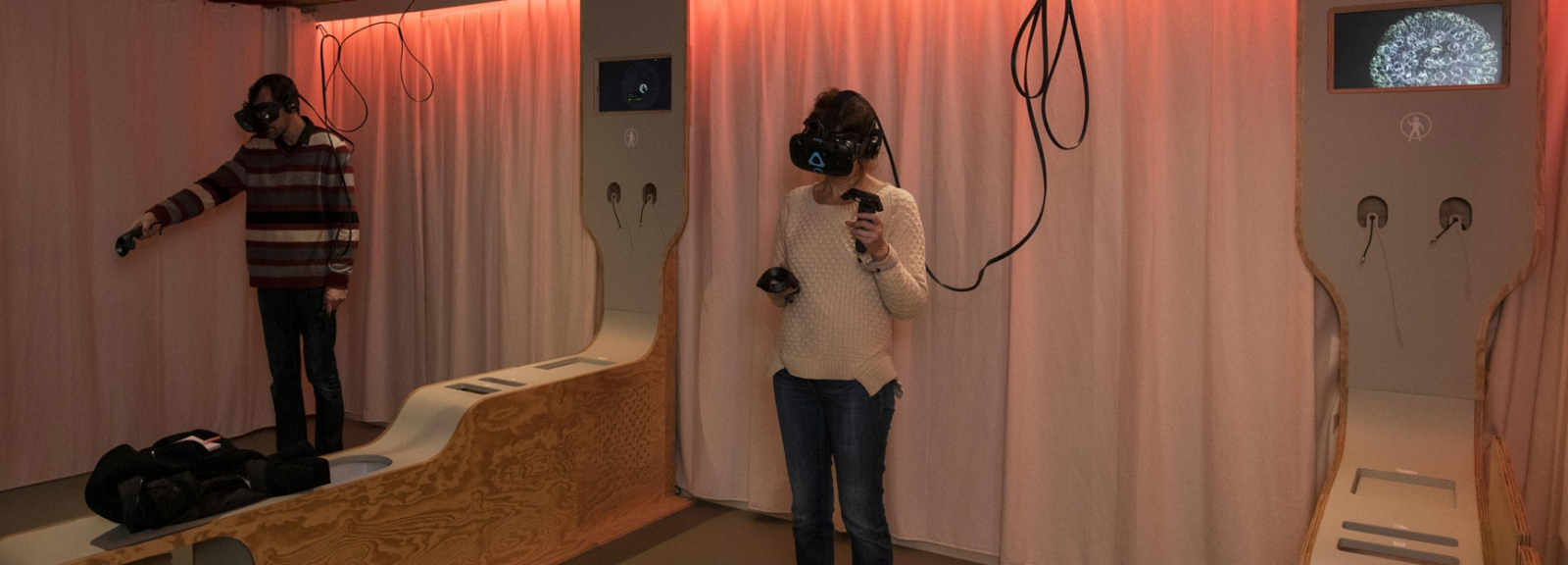 Cabinet de Réalité Virtuelle © MNHN - Agnès Iatzoura