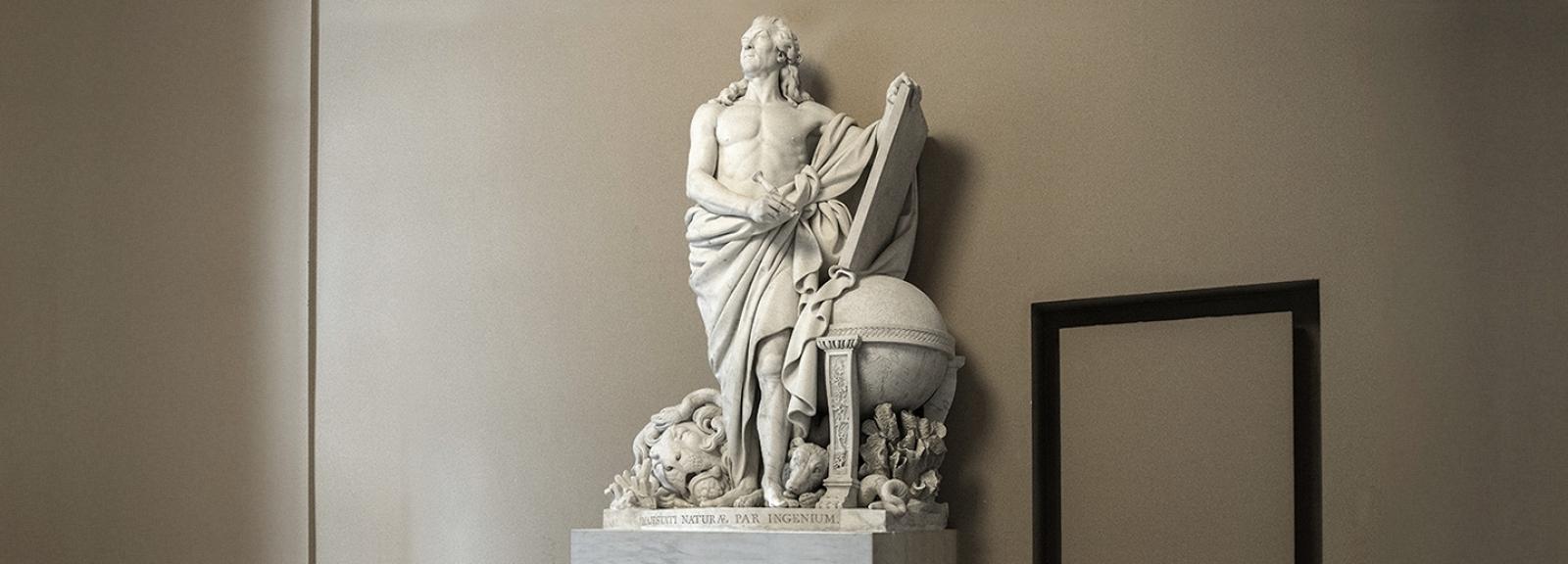 Georges-Louis Leclerc, comte de Buffon © MNHN - Bruno Jay