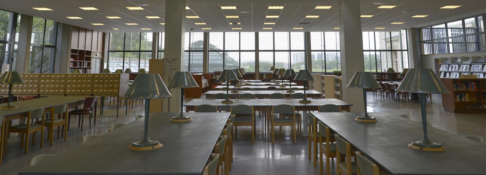 Bibliothèque centrale, Bibliothèque de recherche © MNHN - JC Domenech