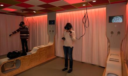 Cabinet de Réalité Virtuelle © MNHN - A. Iatzoura