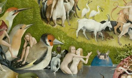 Le Jardin des délices (détail) de Jérôme Bosch, 1503-1510
