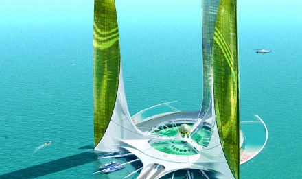 Sea orbiter © J. Rougerie architectes asssociés