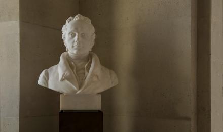 Charles François Brisseau de Mirbel (1776-1854), botaniste français © MNHN - Bruno Jay