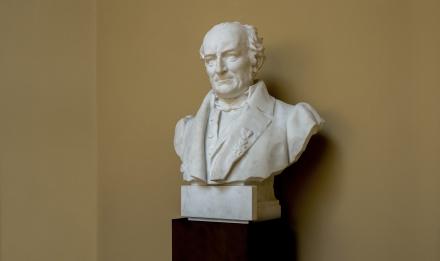 Pierre-André Latreille (1762-1833), French entomologist © MNHN - Bruno Jay