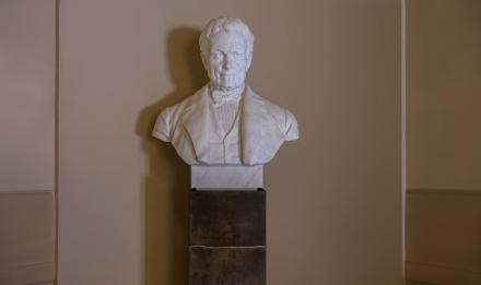 Henri-Marie Ducrotay de Blainville (1777-1850), naturaliste et zoologiste français © MNHN - Bruno Jay