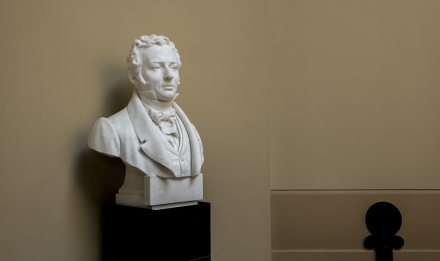 René Primevère Lesson (1794-1849), pharmacien et ornithologue français © MNHN - Bruno Jay