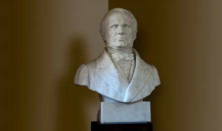 Édouard Lartet (1801-1871), French prehistorian and paleontologist © MNHN - Bruno Jay