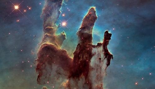 Eagle nebula pillars 2014 © NASA