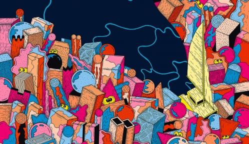 Illustration de Fräneck (détail) © MNHN/ The Parisianer, 2021