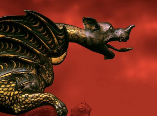 Exposition Dragons, entre science et fiction © MNHN