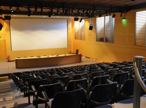 Auditorium de la Grande Galerie de l'Évolution © MNHN - Catherine Ficaja