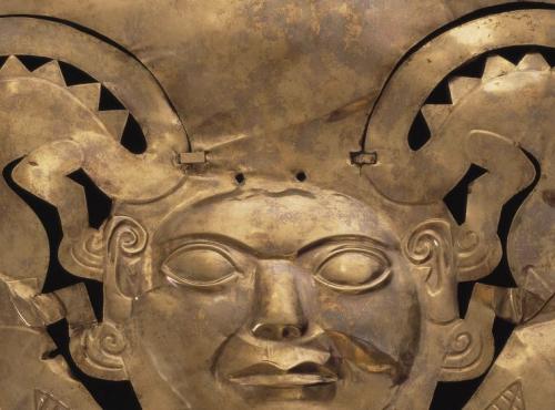 Ornement frontal © Museo arquéologico Rafael Larco Herrera, Pérou