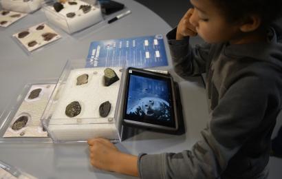 Atelier Vous avez dit météorites  © J C. Domenech
