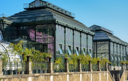 Grandes Serres du Jardin des Plantes © Catherine Ficaja