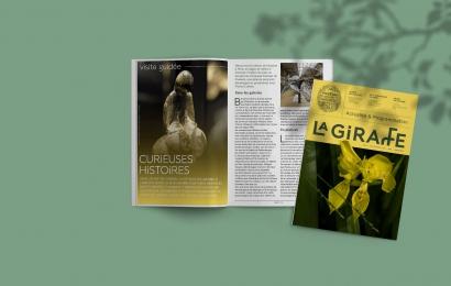 Couverture La Girafe n°4 (juin - septembre 2021) © MNHN
