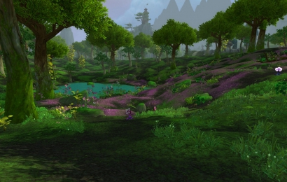 Nature&Technologie_World of Warcraft_ Mists of Pandaria-Forêt de Jade_© Blizzard Entertainment, Inc.