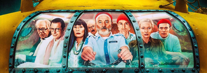 La vie aquatique, détail de l'affiche du film © W. Anderson - Buena Vista International