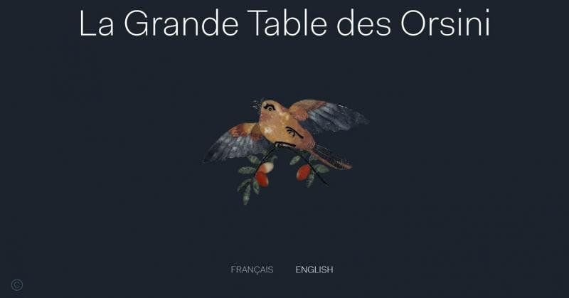 La Grande Table des Orsini © Alpha Studio