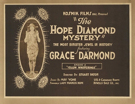 The Hope Diamond Mysteries - affiche du film - 1921