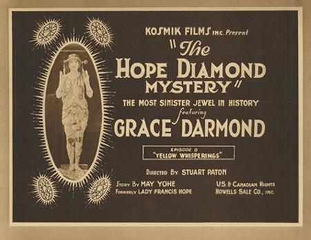 The Hope Diamond Mysteries - affiche du film - 1921