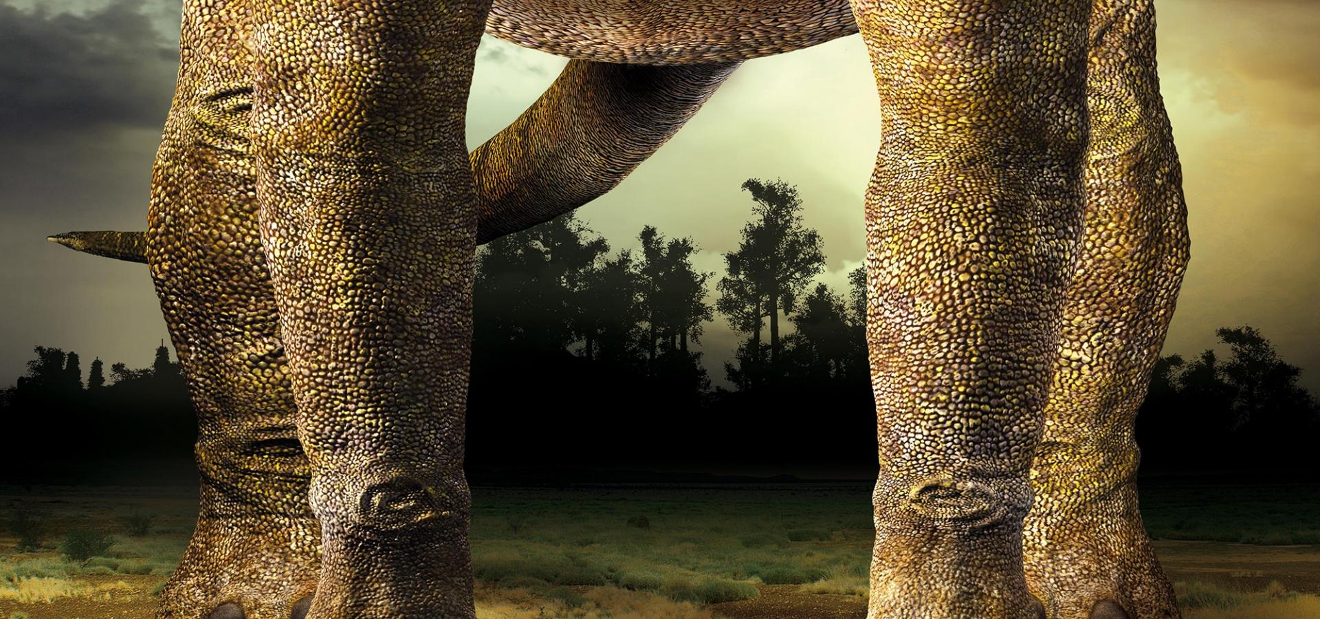 Exposition Dinosaure, la vie en grand © MNHN