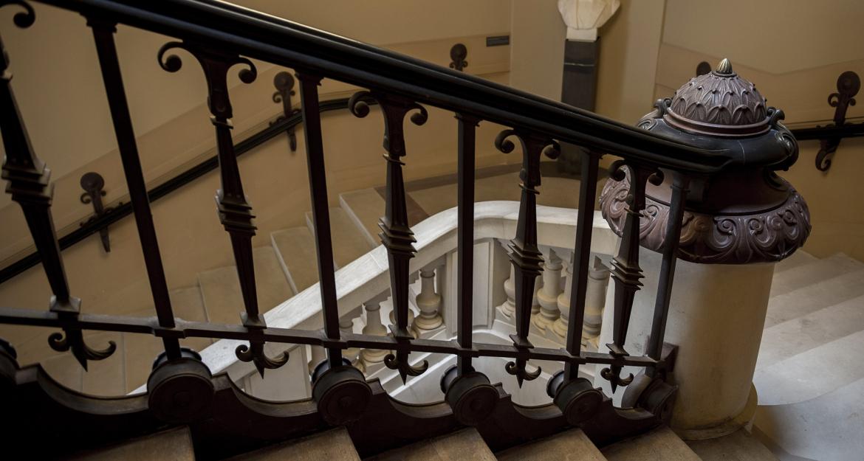 Les escaliers monumentaux © MNHN - Bruno Jay