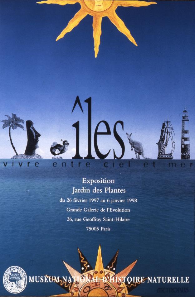 Exposition Îles : vivre entre ciel et mer © MNHN