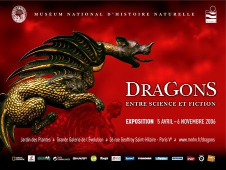 Exposition Dragons, entre science et fiction © MNHN - Service multimédia