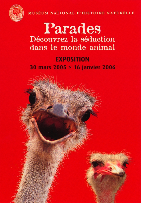 Exposition Parades ou la séduction dans le monde animal © MNHN