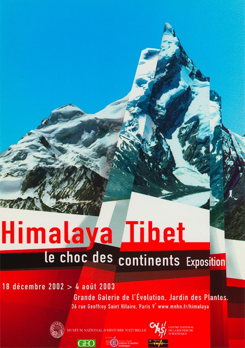 Exposition Himalaya Tibet, le choc des continents © MNHN