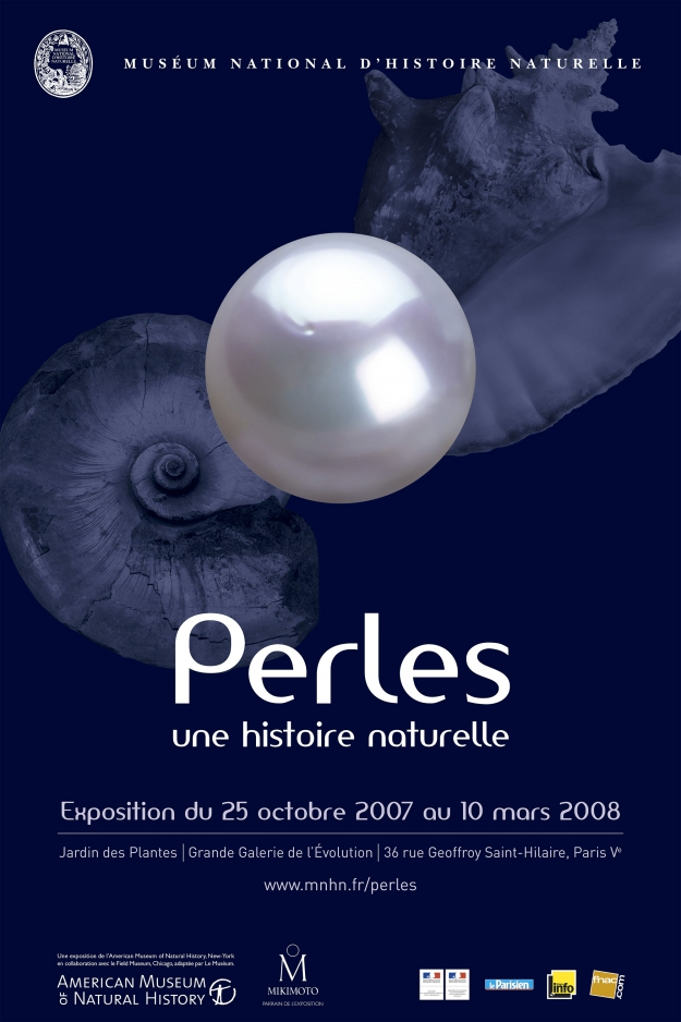 Exposition Perles, une histoire naturelle © MNHN