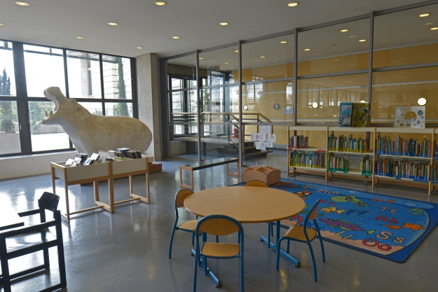 Bibliothèque centrale, Médiathèque © MNHN - JC Domenech