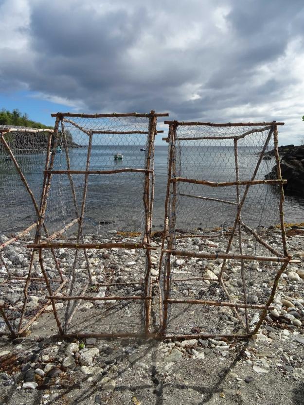 Concours Instagram océan - Photo lauréate 10e prix du Jury - Nasses pour la pêche en Guadeloupe © Geraldine Guerrier @gegueirro