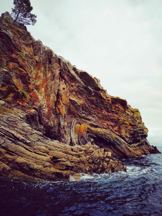 Concours Instagram océan - Photo lauréate 2,3,4e prix du Jury - Les bords du monde, Morgat, Bretagne © Mathilde Charée @moriartea__
