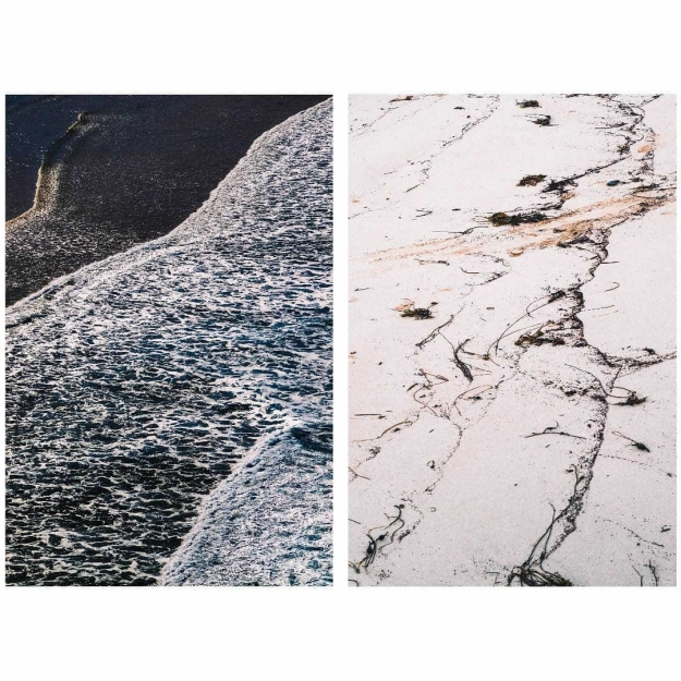 Concours Instagram océan - Photo lauréate 5e prix du Jury - Traces © Solweig Mary @museum.trotter