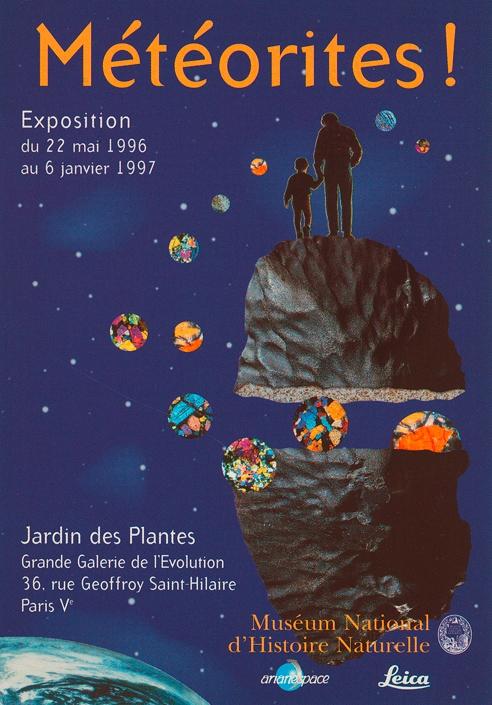 Exposition Météorites ! © MNHN